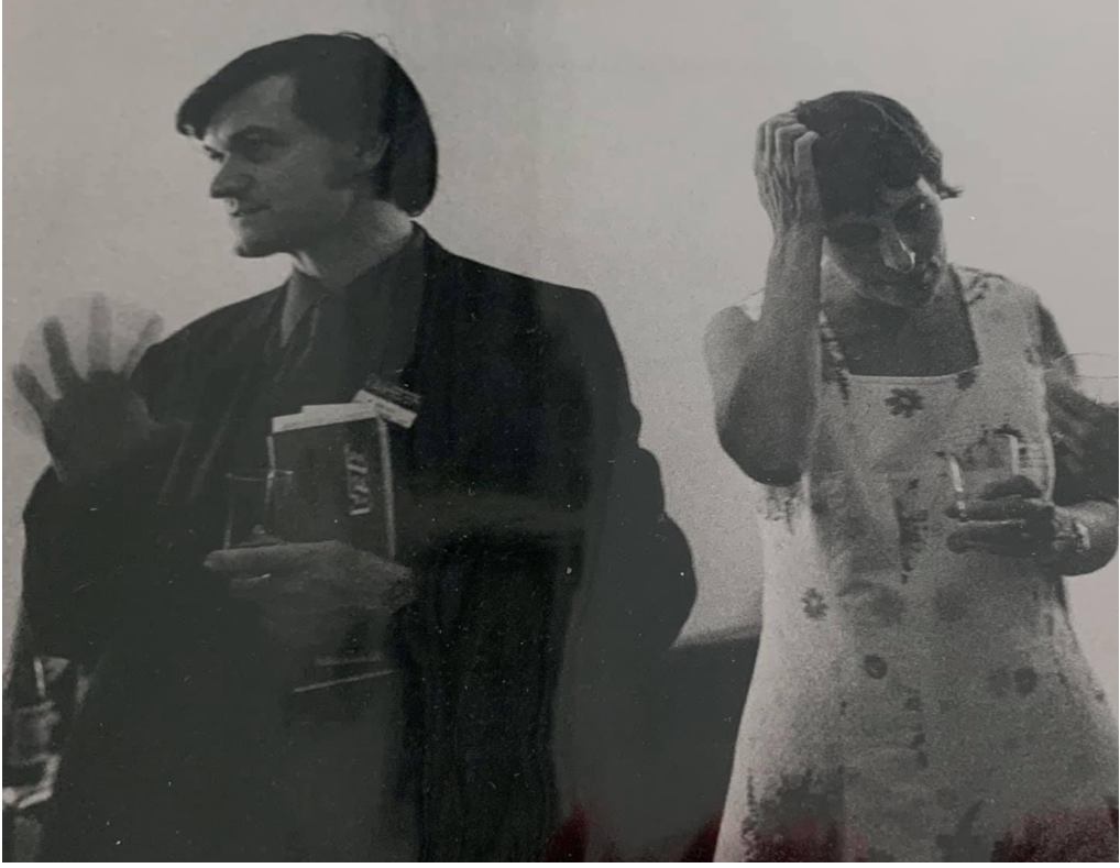 Roger Penrose and Cecile DeWitt